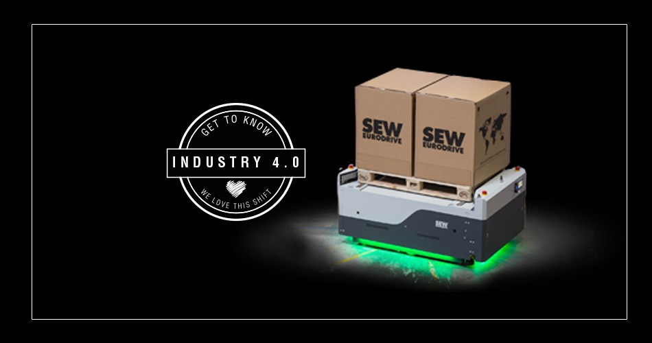 Automated Guided Vehicle (AVGs) by SEW-Eurodrive