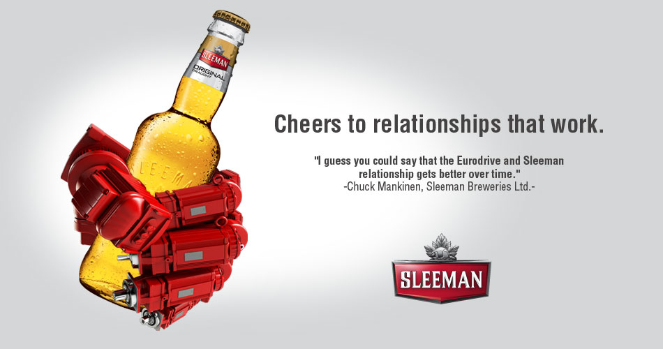 Cheers to relationships that work, SEW-EURODRIVE Canada